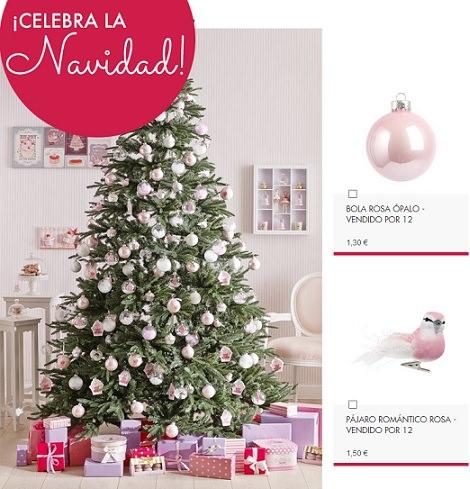 5 Estilos de árbol de Navidad según Maison du Monde