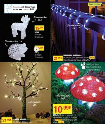 catálogo de leroy merlín navidad 2013 luces