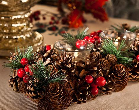 Centro de Navidad Zara Home