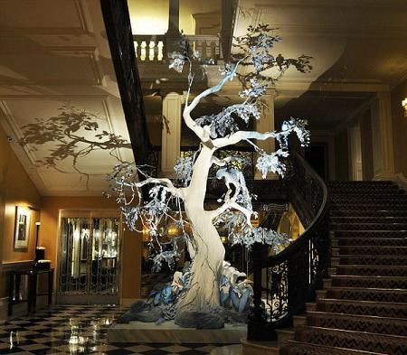 El árbol de Navidad de Cristian Dior