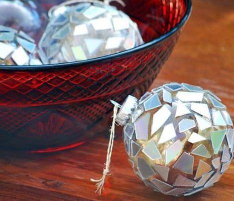 bolas de navidad caseros
