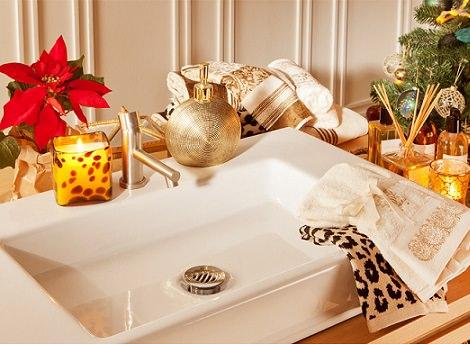 La decoración navideña 2014 según Zara Home baño