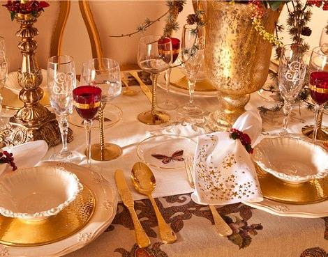 La decoración navideña 2014 según Zara Home cuberteria