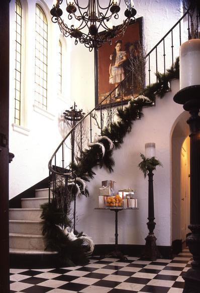 escaleras de navidad