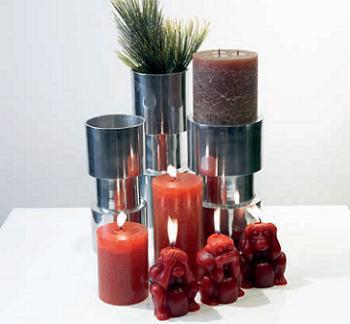jarrones de aluminio