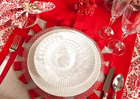 Plato Navidad Zara Home