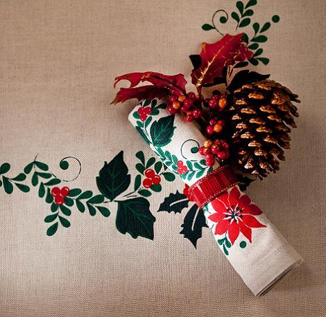 Servilleta de Navidad