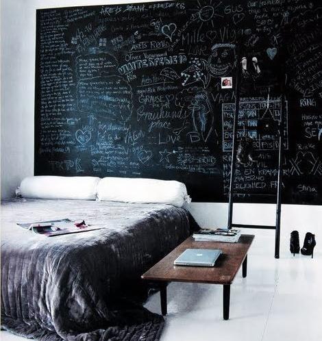 Dormitorio de pizarra