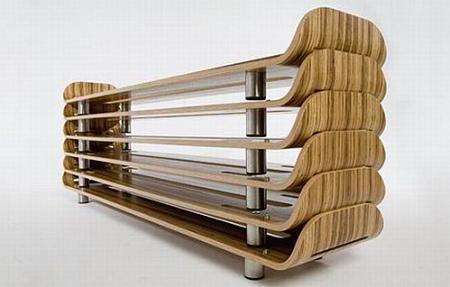 Esta cama apilable es muy útil y al mismo tiempo ocupa poco espacio
