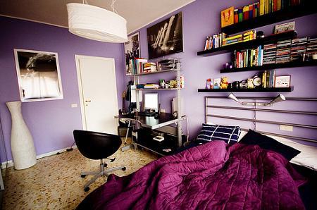 El púrpura imprime carácter