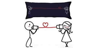 almohada especial San Valentín