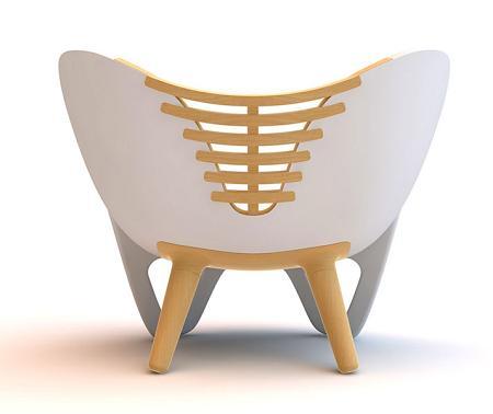La Illum Chair es diseño y arte moderno