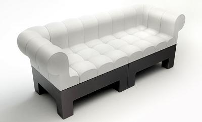 El sofá Mondi tiene piezas que puedes combinar