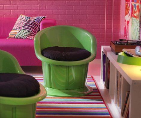 sillón circular ikea popptopr