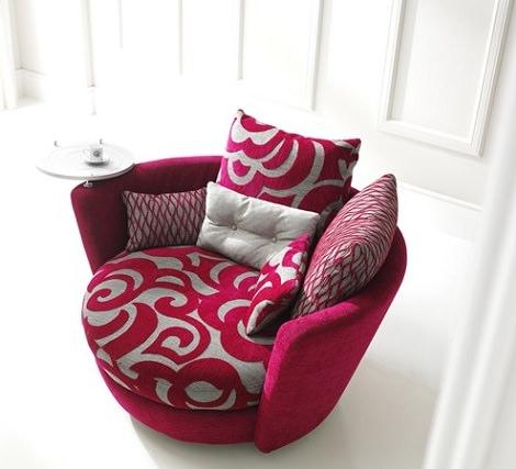 sillón circular tesy