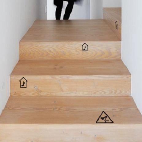Vinilos escaleras