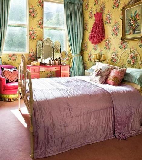 Dormitorio vintage decoraci n - Decoracion vintage dormitorios ...