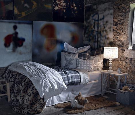 cama de zara home kids otoño invierno 2014 2015